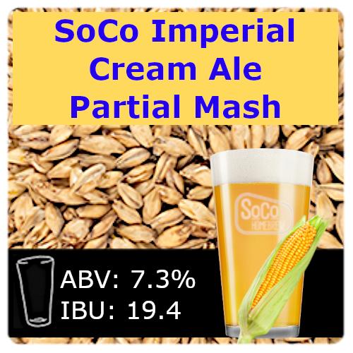 SoCo Imperial Cream Ale - Partial Mash