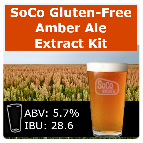 SoCo Gluten-Free Amber Ale - Extract Kit
