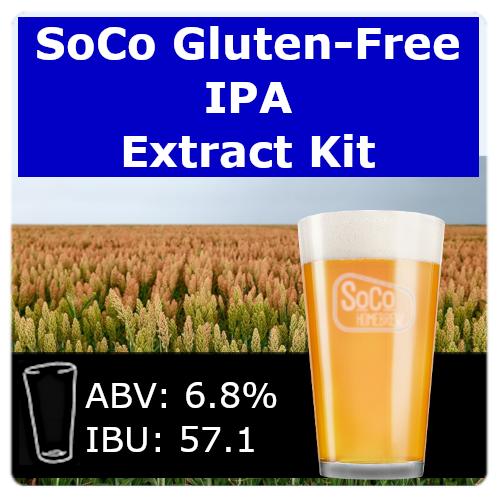 SoCo Gluten-Free IPA - Extract Kit