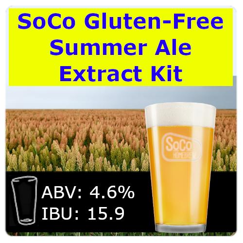 SoCo Gluten-Free Summer Ale - Extract Kit