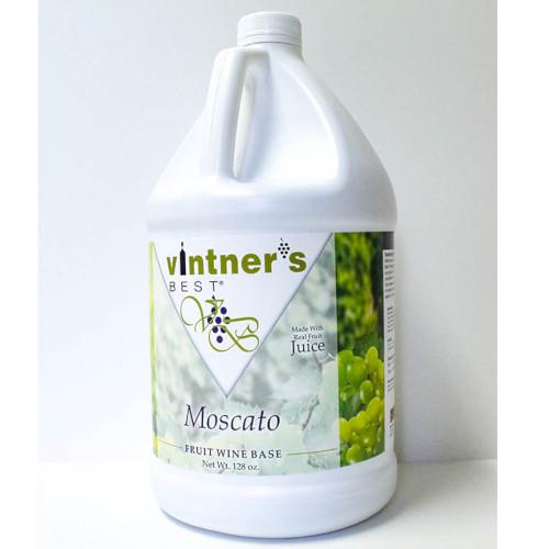 Vintner's Best Moscato Wine Base - 128 oz