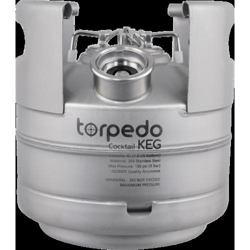 Torpedo Cocktail Kegs - 1.5 Gallon