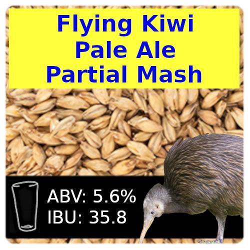 SoCo - Flying Kiwi Pale Ale - Partial Mash