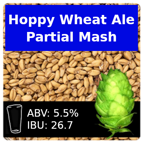 SoCo - Hoppy Wheat - Partial Mash