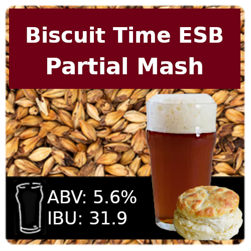 Biscuit Time ESB - Partial Mash