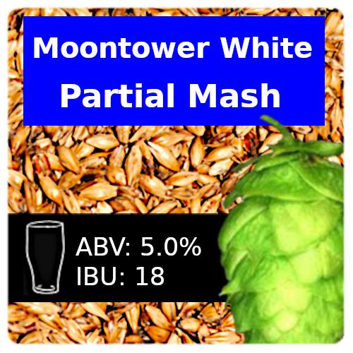 SoCo - Moontower White - Partial Mash