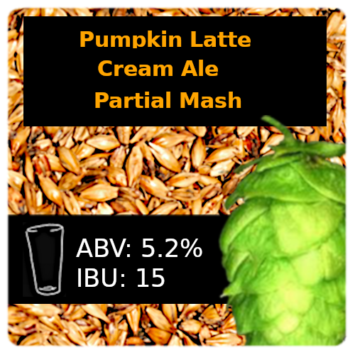 SoCo - Pumpkin Latte Cream Ale - Partial Mash