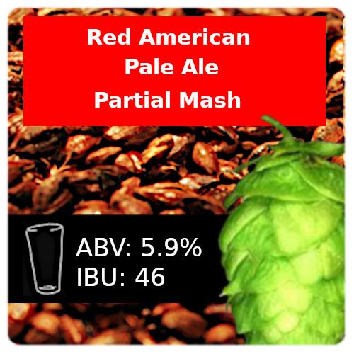 SoCo - Red American Pale Ale (APA) - Partial Mash