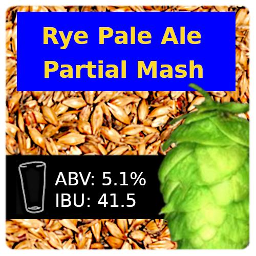 SoCo - Rye Pale Ale - Partial Mash