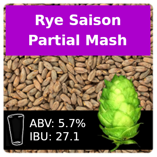 SoCo - Rye Saison - Partial Mash