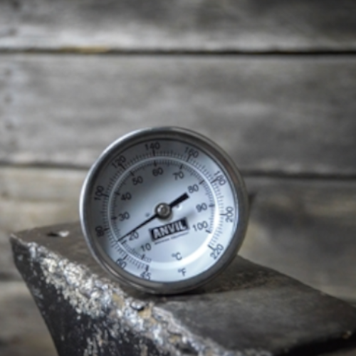 Weldless Anvil Thermometer