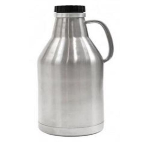 64 oz Double Wall SS Growler - Screw Top