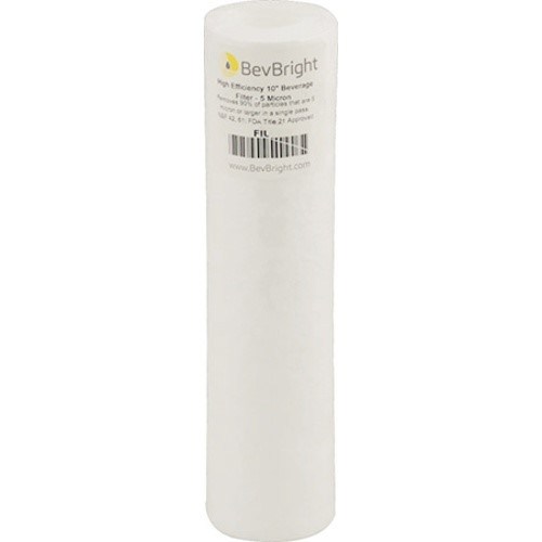 BevBright™ Absolute Rated Beverage Filter - 1 Micron