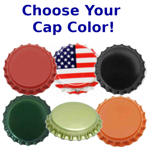 Bottle Caps with Oxygen Barrier - 60 Count