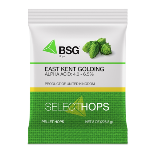 EAST KENT GOLDING HOP PELLETS (UK) - 8 oz