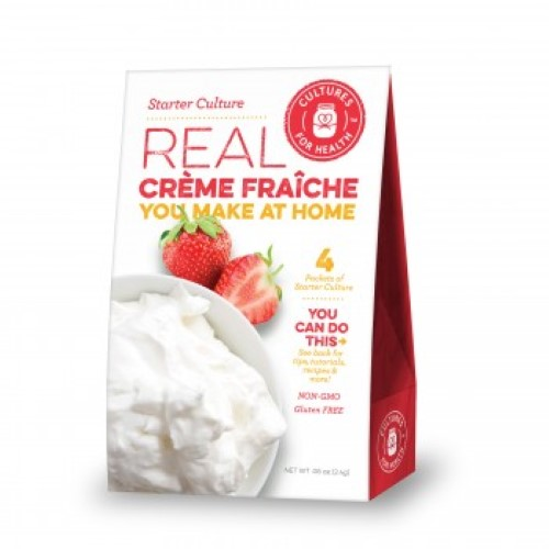 Creme Fraiche Starter Culture - Cultures For Health (CFH)