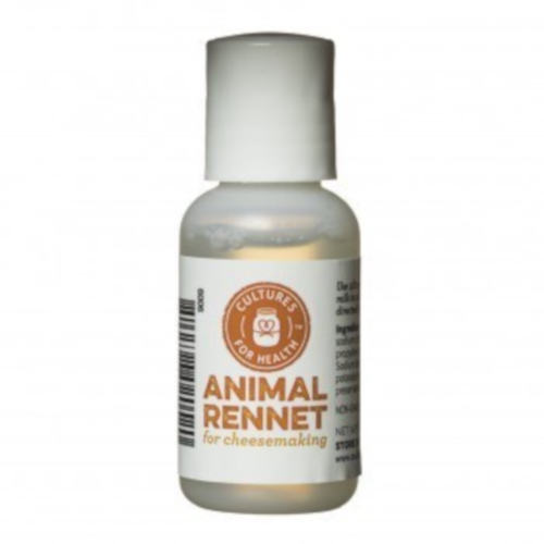 Liquid Animal Rennet - Cultures For Health (CFH)