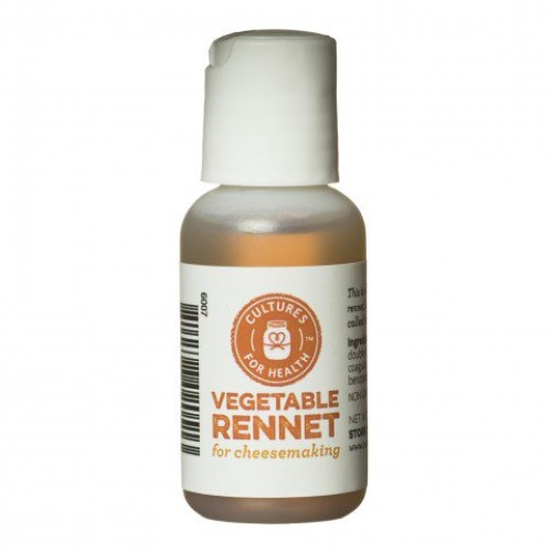Liquid Vegetable Rennet - Cultures For Health (CFH)