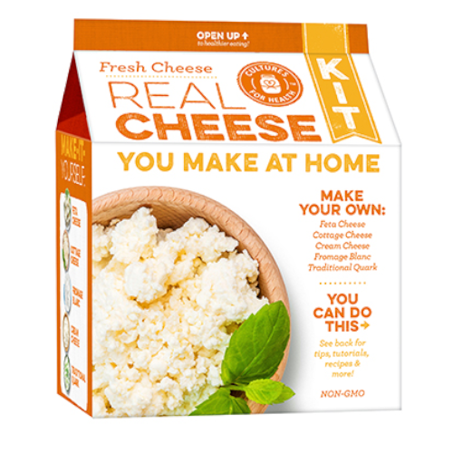 Fresh Cheese Kit - Cultures For Health (CFH)
