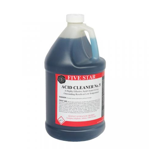 Five Star Chemicals Acid Cleaner #5 - 1 Gallon