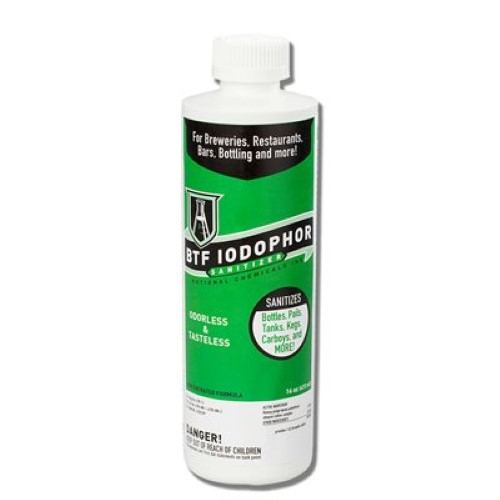 Iodophor Sanitizer - 16 oz