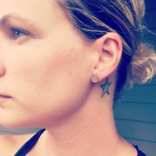 Stunning Elegant Minimalist Teardrop or Pear Shaped Blush Pink Chalcedony Sterling Silver Stud Earrings