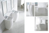 Altier - Modern Bathroom Pedestal Sink 18.5""