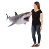 Great White Shark Statue Hanging Life Size 6FT