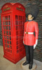 British Queen Guard Statue Life Size 7FT
