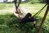 Pirate on Hammock Life Size Statue 6FT