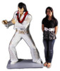 Elvis Life Size Statue in White Jumpsuit