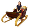 Santa Sleigh 2 Seater 6.6FT Long