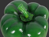 Large Green Bell Pepper Statue