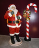 Candy Cane Christmas Decoration Large 7.5FT Statue