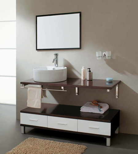 Cleo - Modern Bathroom Vanity Set 47""