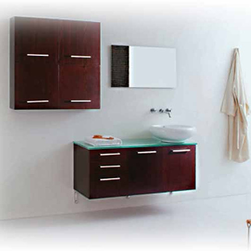 Modern Bathroom Vanity Set - Monticello 47""