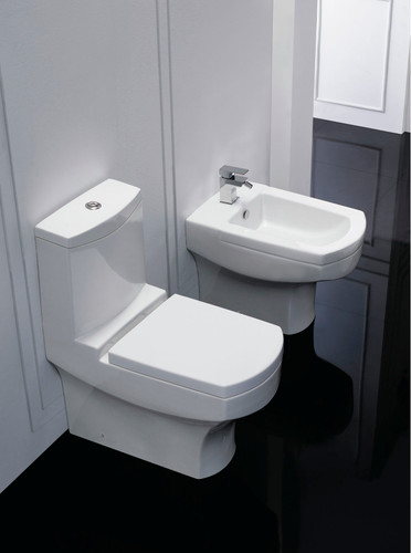 Modern Toilet Dual Flush One Piece - Tori