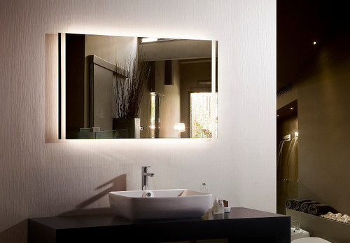 Breeze II Backlit LED Bathroom Mirror