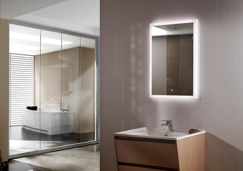 Munich LED Lighted Bathroom Vanity Mirror