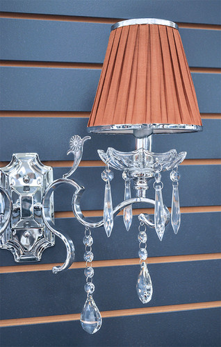 Wall Lamp - Crystal Wall Sconce - Avellino