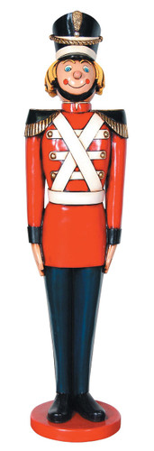 Tin Soldier Statue Life Size Christmas Decor 5.5 FT