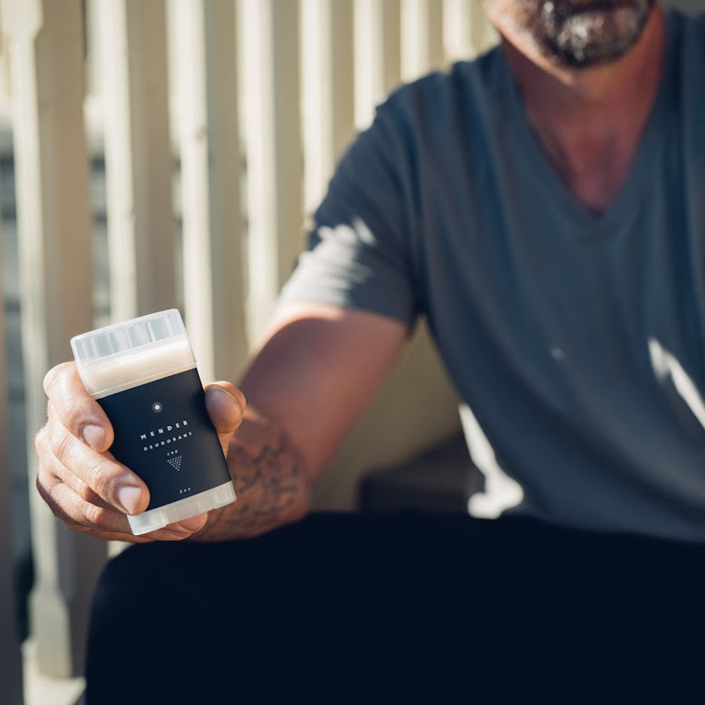Mender CBD Natural Deodorant