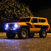 Redcat Racing Gen8 Scout II with the headlights turned on