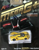AFX Mega-G+ Ford GT triple yellow HO scale slot car packaging 22029