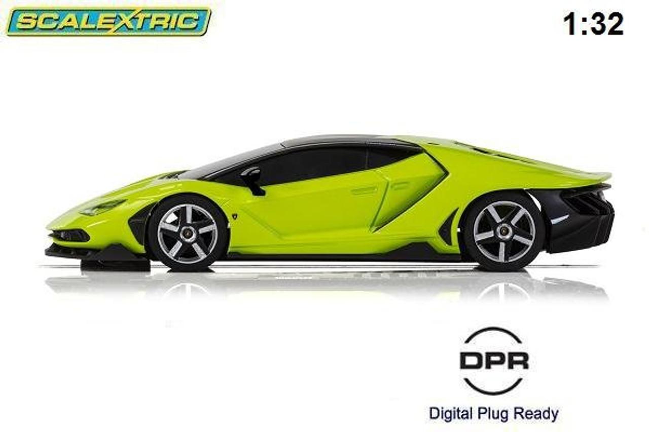 Scalextric Lamborghini Centenario Green C3957 Brs Hobbies