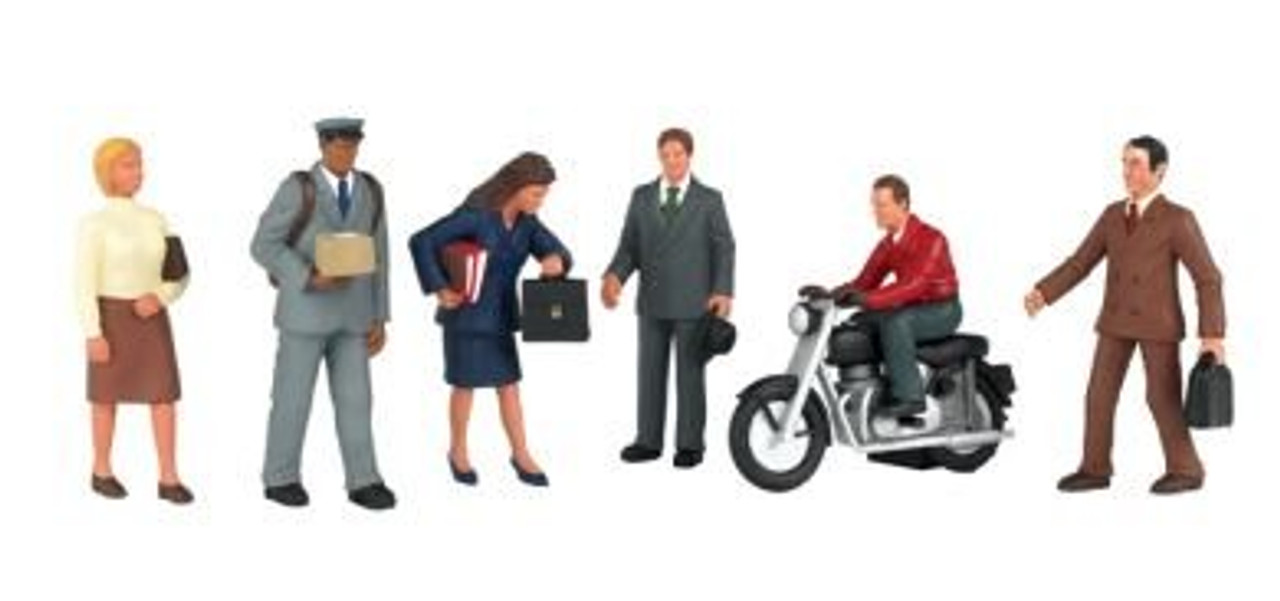 Bachmann Scene Scapes City People HO Scale Figures 33101