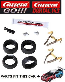 Carrera GO/DIGITAL 143 Porsche GT3 Cup Seyffarth Motorsport Racing Accessories
