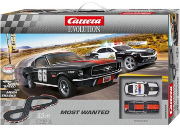 Carrera Evolution Most Wanted slot car set box