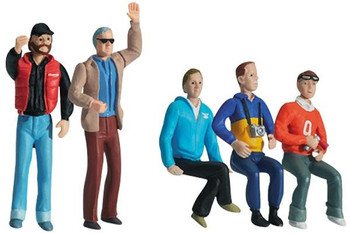 Carrera small assortment figure set