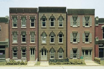 DPM Townhouse Flats HO scale building kit